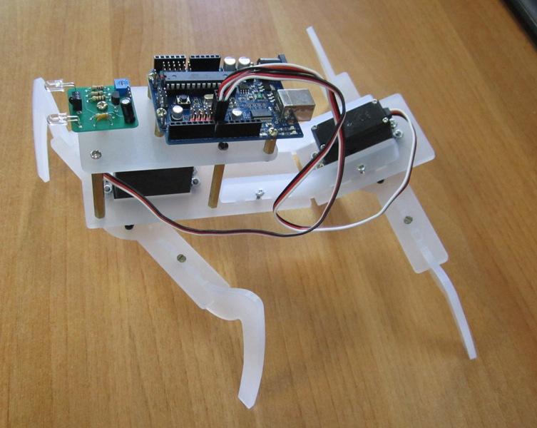 подключение серво моторов к Arduino